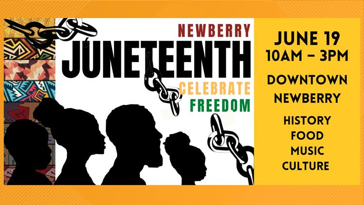Newberry hosts Inaugural Juneteenth celebration