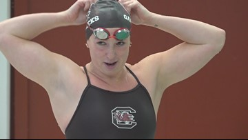 USC Swimmer overcomes five heart surgeries to stand a top Gamecock Record Books