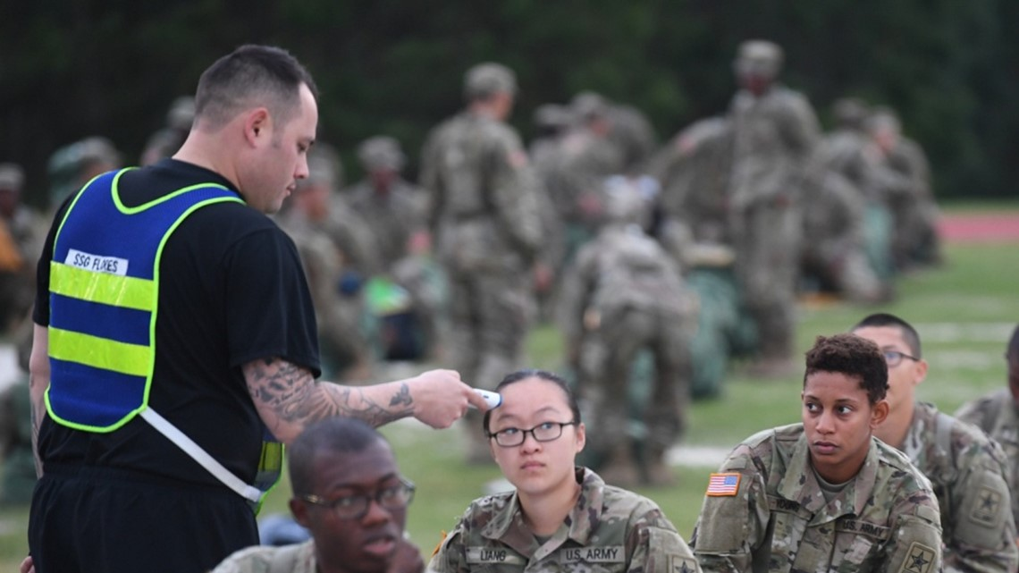 Fort Jackson ships out basic training grads to advance training base in Virginia