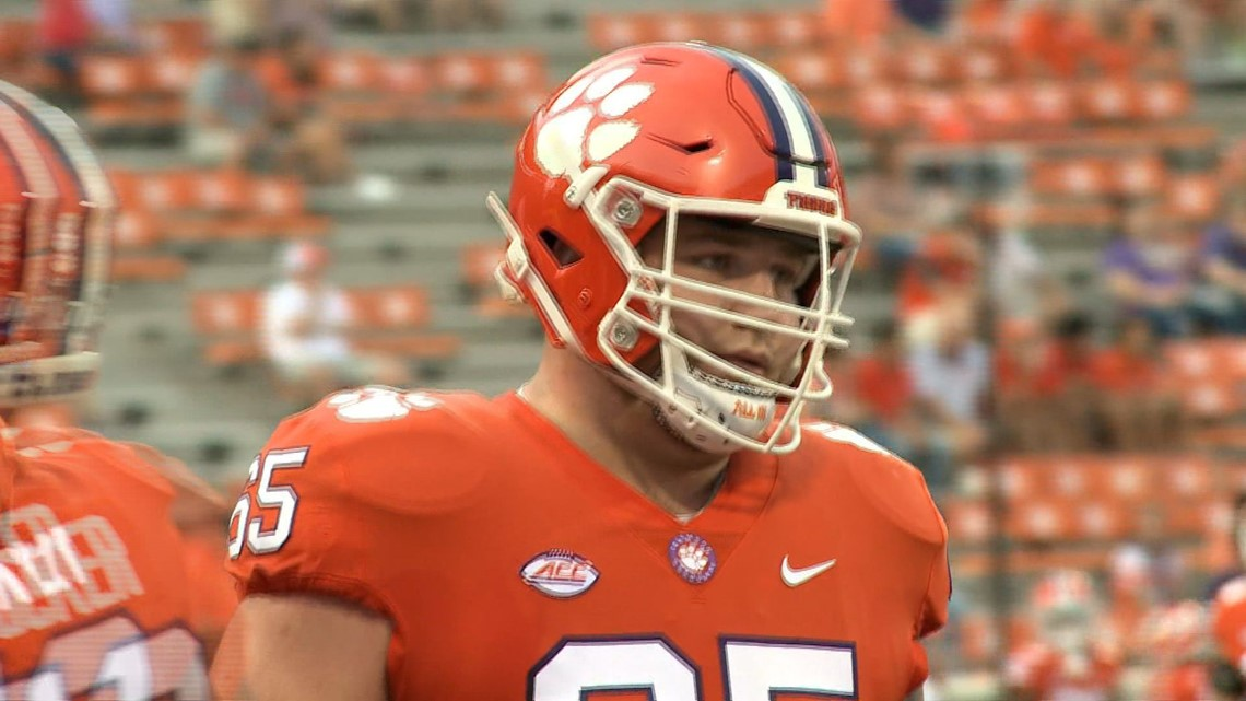Clemson Offensive Lineman Matt Bockhorst out for the season with torn ACL