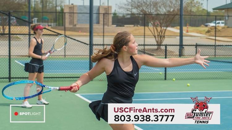 USC Sumter Fire Ants tennis