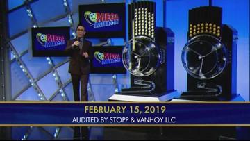 Mega Millions Feb 15, 2019
