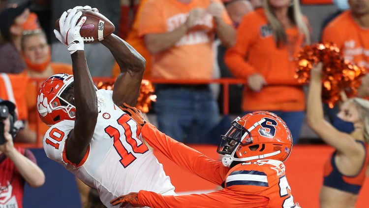 Clemson survives at Syracuse 17-14