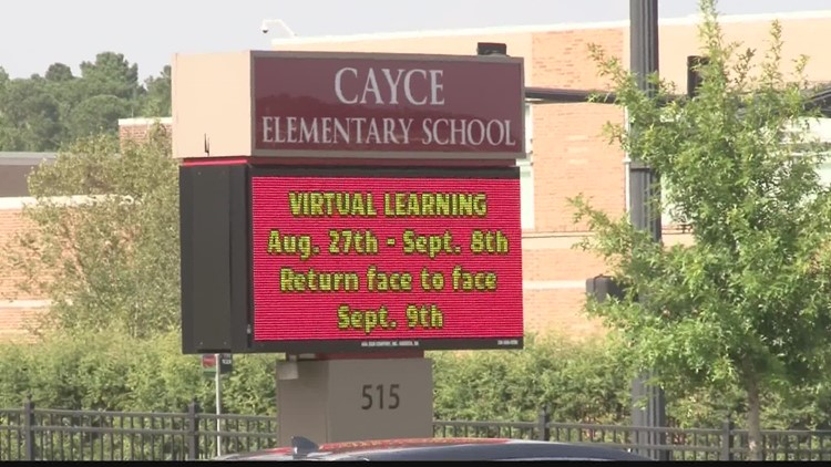 Cayce Elementary School moves to remote learning for two weeks due to COVID