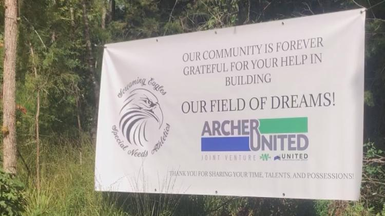 'The best is yet to come': New athletic facility being built to focus on special needs