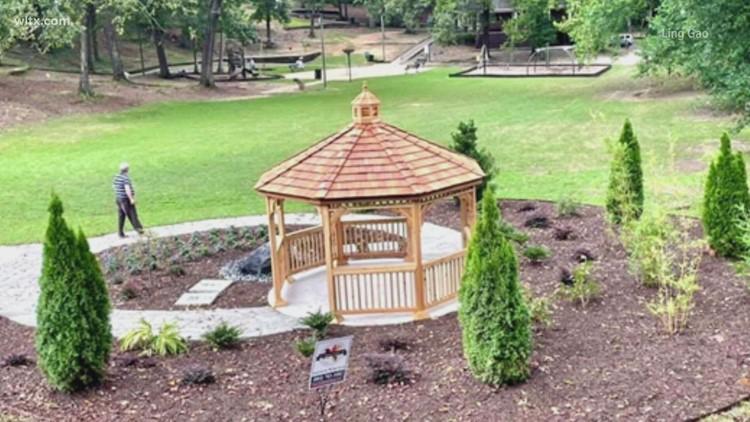 Meditation garden honors life of former Shandon resident