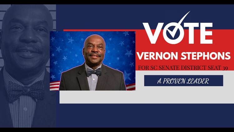 Vernon Stephens wins South Carolina Senate District 39