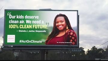 South Carolina mom raises awareness for clean air through billboard campaign