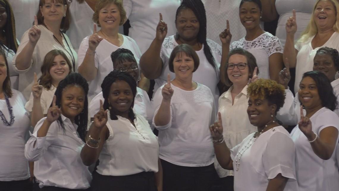 Orangeburg school district employees gather ahead of school year