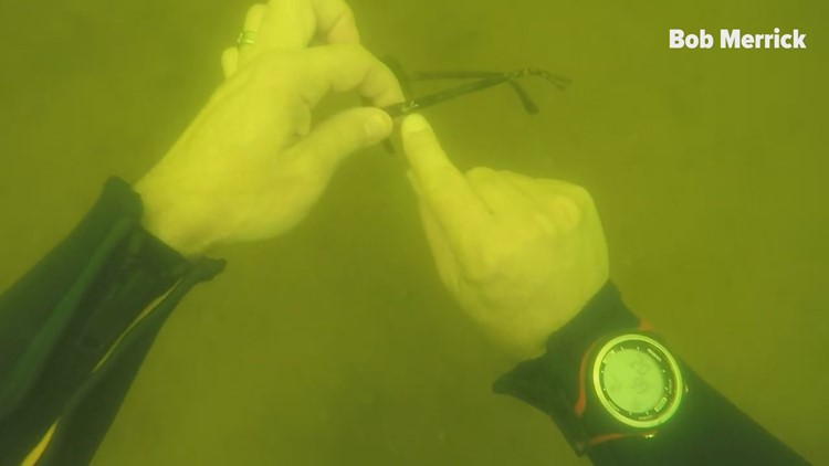 Diver plumbs depths of Lake Murray to rescue heirlooms - and memories