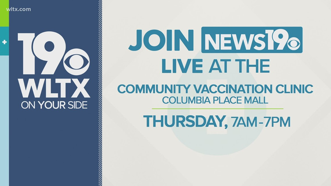 WLTX teaming up with SCEMD at mass vaccine clinic in Columbia