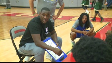 Sumter basketball coach talks about being at the NBA Draft