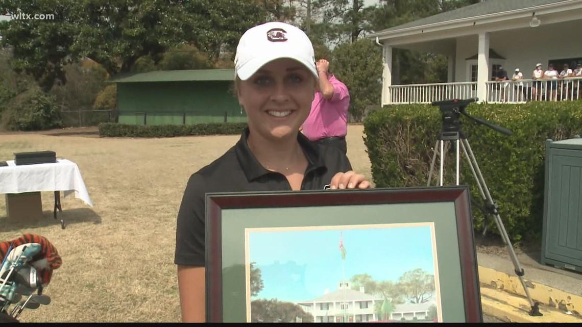SEC Co-Golfer of the Week is Pauline Roussine-Bouchard