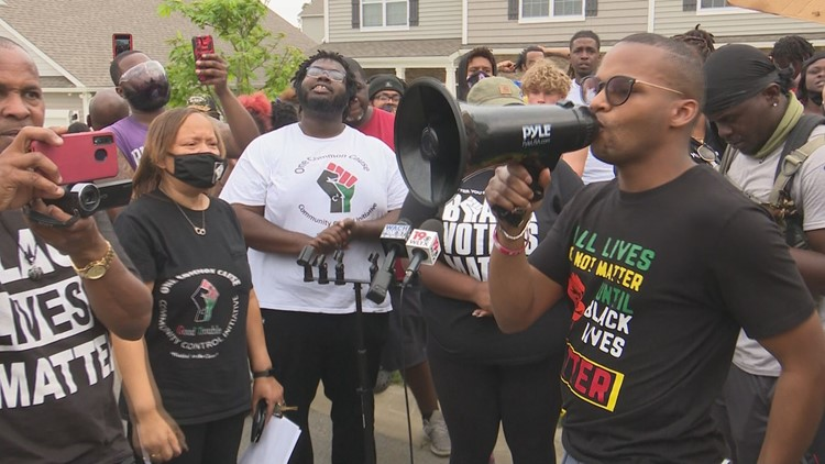 Protestors call for justice in Columbia neighborhood after video goes viral