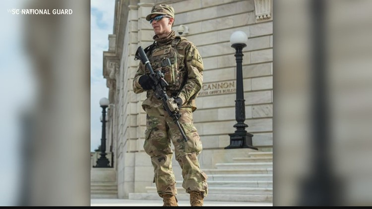 SC National Guard members in D.C. for inauguration security