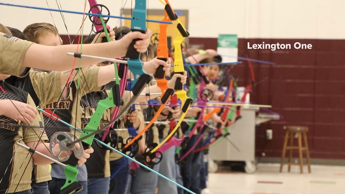 Pelion Elementary student archery team wins state championship