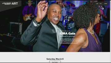 Columbia Museum of Art Gala on March 9, 2019