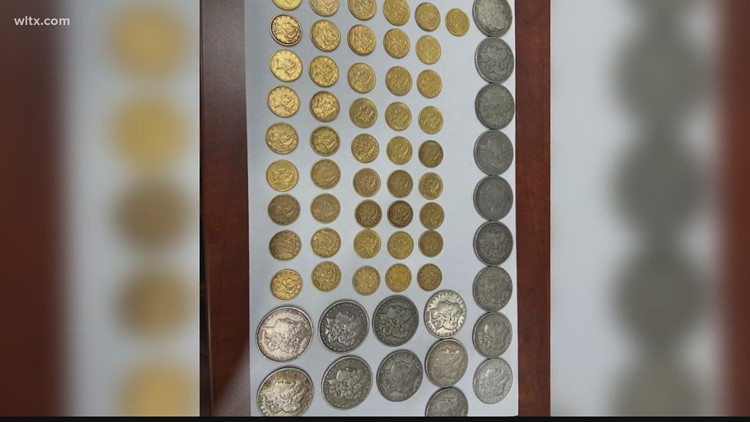 Homeowners find coins worth $25,000, reunite them with original owner