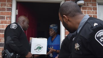 Orangeburg Sheriff's Department feeds more than a hundred residents