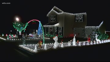Chapin Holiday decorating contest