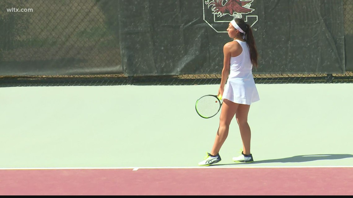 Gamecock women's tennis players named All-SEC