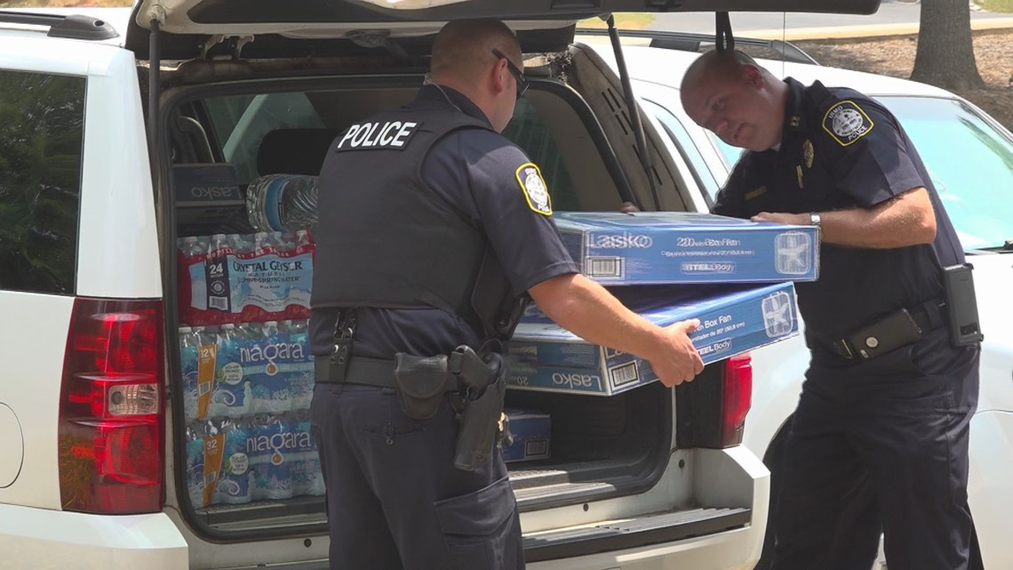 Community member donates materials for summer months