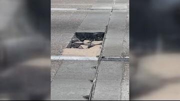 Driver says pothole on I-77 cost her hundreds