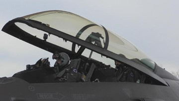 F-16 fighter jets from SC will patrol the skies over the Super Bowl