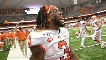 Clemson leaves no doubt at the Carrier Dome, beats Syracuse 41-6