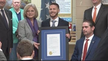 SCDMV renames office in honor of SC Medal of Honor recipient Kyle Carpenter