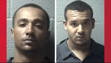 Suspects wanted in weapons theft caught in Orangeburg