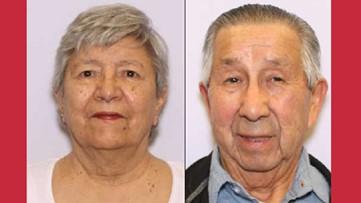 Endangered person alert issued for missing elderly SC couple