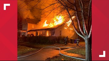 Fire damages two homes in Columbia overnight
