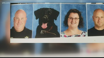 Beloved Midlands deputy, K9 make it into North Central High School yearbook