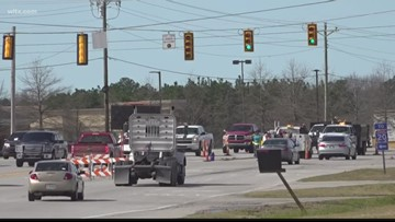 Troopers work to improve roads in Lexington county