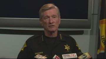 Guns, drugs, gangs will put young people in 'the cemetery or in the prison,' sheriff says