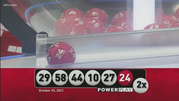 Powerball October 25 2021