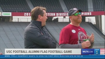 USC Football Alums Come Together For Flag Football