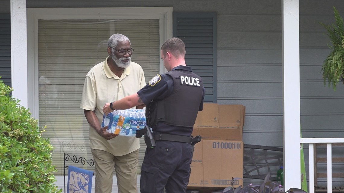 Seniors in need get deliveries, visits from Irmo police