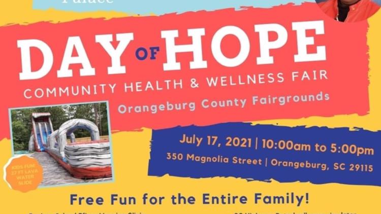 COVID vaccines among free health services available at Orangeburg County health fair Saturday