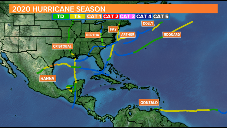 Atlantic Hurricane Season 2020 had busiest start on record, expected to be busier August & September