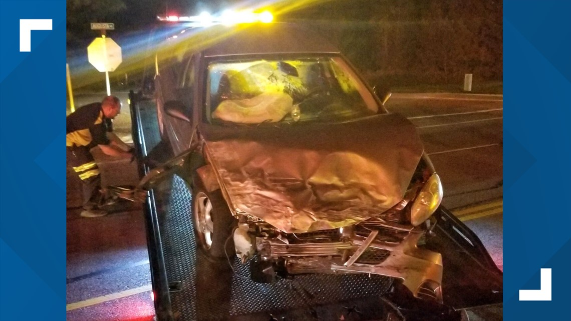 2 injured in crash after allegedly intoxicated driver strikes vehicle head on, Lexington police say