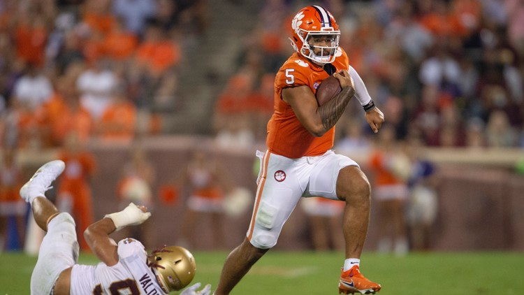Clemson escapes Boston College with 19-13 victory