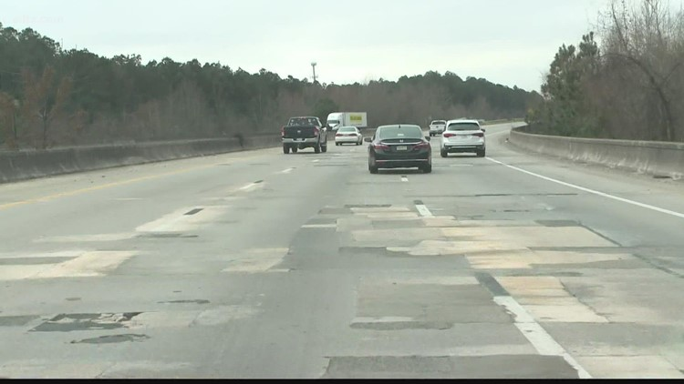 Some I-77 potholes near Columbia to be fixed in the coming days