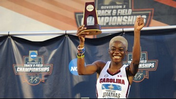 Wadeline Jonathas Captures The 2nd National Title For USC Track And Field In Austin