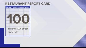 Restaurant Report Card January 3 2019