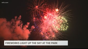 4th of July Fireworks at Segra Park in Columbia, SC