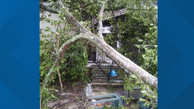Wind, hail cause damage, outages in Newberry, Lowcountry