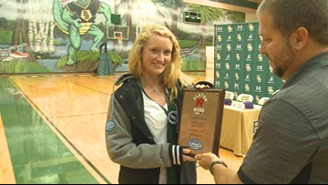 Claire Floyd is the News19 Player of the Week