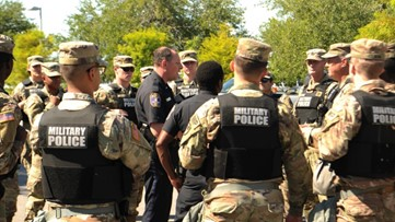 445 SC National Guard soldiers deployed to Washington, DC for protests